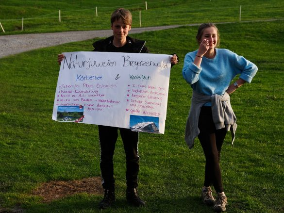 NaturVIELFALTER – Schüler präsentieren Tourismusdestinationen