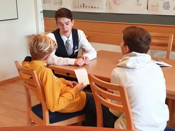 SIS 2019! Künftige GASCHT Schüler zu Besuch…