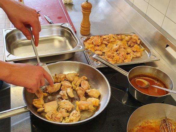 Kochunterricht mit Florian Pfeifer