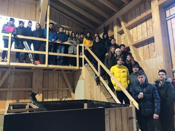 Exkursion zur Hühnerfarm Wiesenhof Bezau!